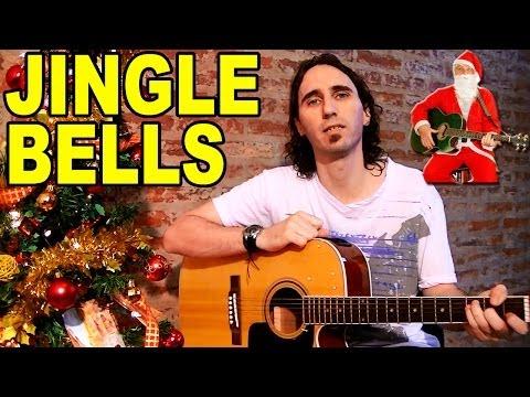 Como Tocar Navidad En Guitarra Acústica (Jingle Bells) / Tutorial Fácil Por Mario Freiria TCDG