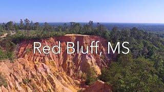 DJI Phantom 3 Standard: Rock Climbing at Red Bluff, Mississippi