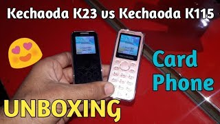 Kechaoda K33 vs Kechaoda K115 Unboxing & Review [Hindi]