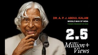 Dr. APJ Abdul Kalam Biography in Hindi By Gulzar Saab Motivational Story  from Black Diary Motivation