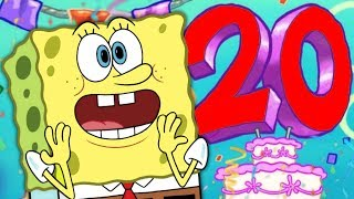 Spongebob's 20th Anniversary is TODAY!