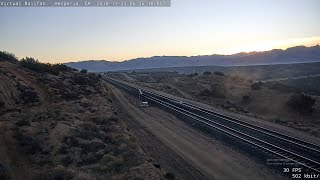 Cajon Pass, Hesperia, California USA | Virtual Railfan LIVE