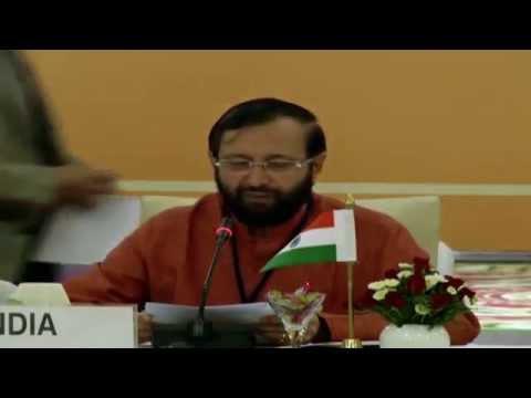 Shri Prakash Javadekar addresses 18th BASIC Ministerial Meeting on Climate Change