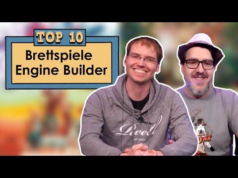Top 10 - Brettspiele - Engine Builder