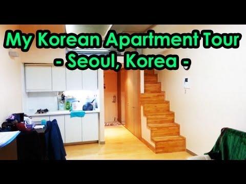 My Korean Apartment Tour Seoul Korea Youtube