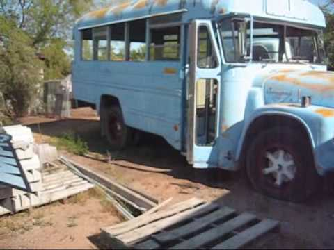 International Harvester IH LoadStar 1800 Bus and 1600 CabOver Truck