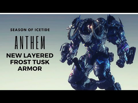 Anthem: New Layered Frost Tusk Armor Preview