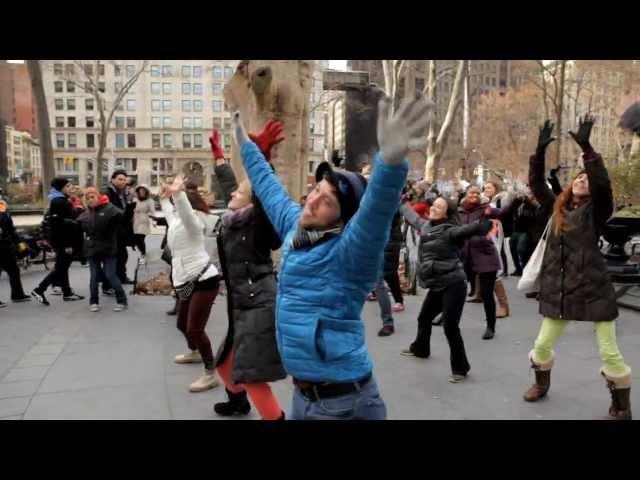 Caroline's Birthday Flash Mob - NYC