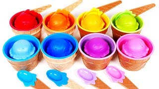 Learn Your Colors with Lots of Ice Cream | Yippee Toys Video