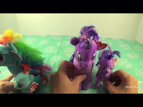 My Little Pony Plush Round-Up! Scootaloo, Sweetie Belle, Trixie Review! by Bin's Toy Bin