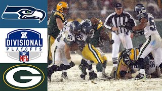 Seahawks vs Packers 2007 NFC Divisional