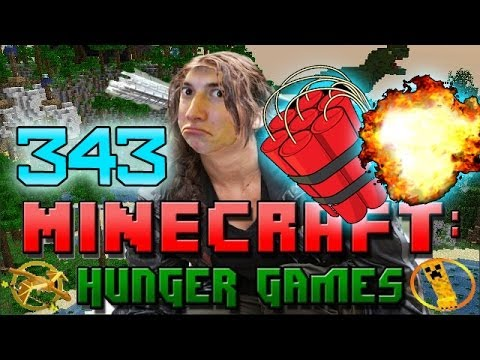 Minecraft: Hunger Games w/Mitch! Game 343 - BENJA AND BACCA TNT SPECIAL!
