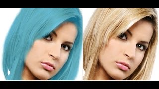hair color change gimp tutorial