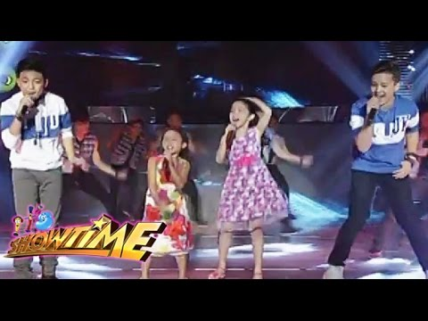 The Voice Kids Final 4 performs in front of Madlang People