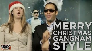 Merry Christmas Gangnam Style! (a CHRISTMAS CARD By UCB's Pantsuit)