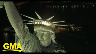 Inside the opening of the new Statue of Liberty Museum | GMA