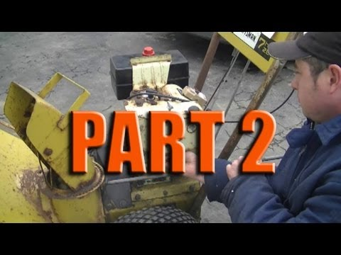 Carburetor Rebuild on 4-7HP Tecumseh Snowblower Engine Part 2/2