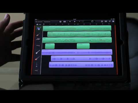 Garage Band para ipad: un estudio de grabación en tu tablet