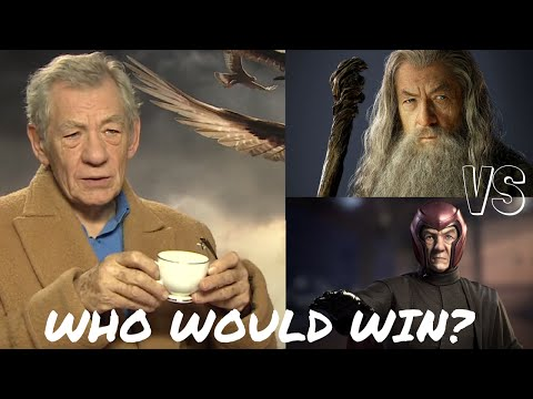 Sir Ian McKellen reveals who would win between Gandalf & Magneto