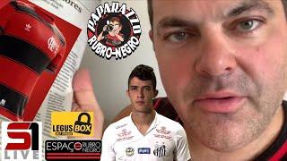 Zagueiro Gustavo Henrique no Flamengo? Mídia só mostra o que quer! Lançamento do novo Manto jogo 1!