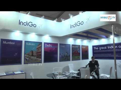 Indigo Airlines - India Aviation 2016 Hyderabad - hybiz