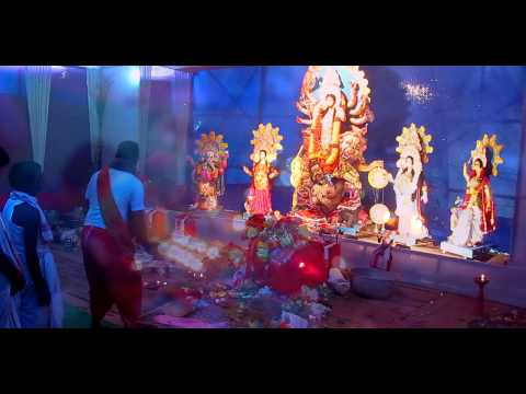 Durga Puja Mahaashtami Aarti With Dhak Sound video