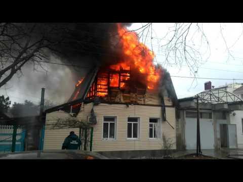 Пожар в Анапе