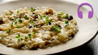 Mushroom Risotto | ASMR Cooking Sounds 4K