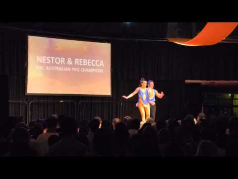 2016 Sydney International Bachata Festival - Nestor and Rebecca