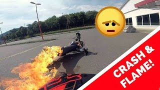 MOTO Fails, Crashes and Flame !