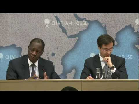 Stability and Economic Prosperity in West Africa -- Alassane Ouattara Q and A