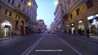 ►Italy 267 (Camera on board): Rome and Vaticano by night (GoPro Hero3 1080p25)