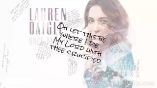 Download Lagu Lauren Daigle - Once And For All (Instrumental) (Lyric Video) Gratis STAFABAND