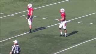 Wabash kicker takes his blocked field goal in for TD