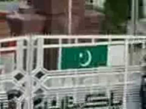 Wagha Border Prade On 14 August 2009 video