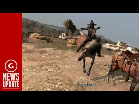 Rockstar Teases Red Dead Redemption 2 - Gs News Update video