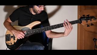 Davie504 Hardest Bass Riff EVER (cover) Most Expensive Bass Award by #davie504