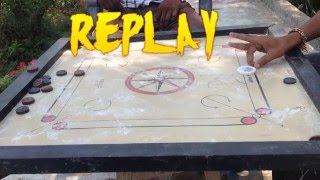 carrom board amazing shots 2016