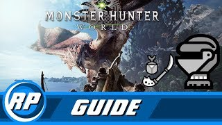 Monster Hunter World - Insect Glaive Armor Progression Guide (Recommended Playing)