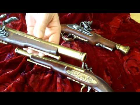[HD] Exhibit Insight. Replica English Dueling Pistols
