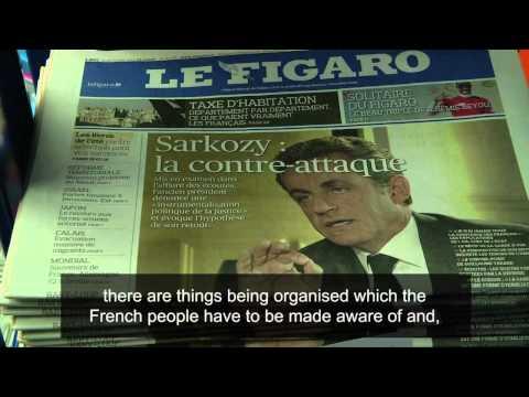 Sarkozy hits back at corruption probe