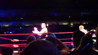 TNA Maximum Impact Tour 2011 Berlin - Matt Morgan VS. The Pope