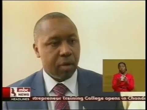 Malawi Vice President Saulos Chilima on Advancement of ICT in SADC -  25 November 2014