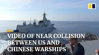 More footage emerges from 2018 near collision of US and China warships in South China Sea