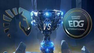 TL vs EDG | Worlds Group Stage Day 3 | Team Liquid vs Edward Gaming (2018)