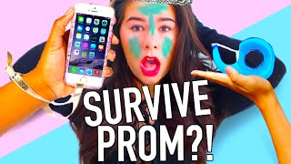 Prom life hacks everyone should know! DIYs to survive prom!