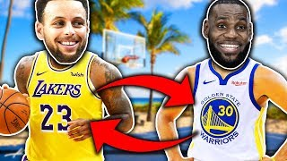 WHAT IF LEBRON AND STEPH SWITCHED BODIES? NBA 2K19