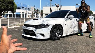 NEW HELLCAT CHARGER WRAP! *NEVER SEEN BEFORE!*
