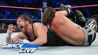 Dean Ambrose vs. AJ Styles – Nr. 1 Herausforderer Match: SmackDown LIVE, 25. Oktober 2016