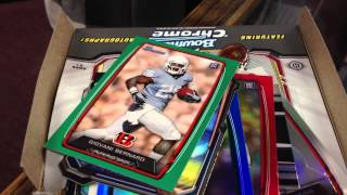 2013 bowman football box break at sbaycards